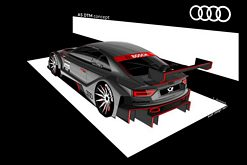 World premiere of the Audi-A5 DTM at the IAA