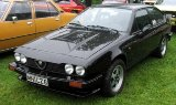 Black Alfa GTV