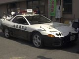 Mitsubishi 3000 GTO Police Car