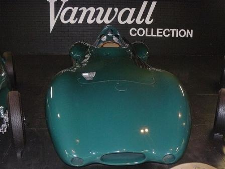 1957 Vanwall VW6 Streamliner