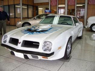 1974 Trans Am that was used in the movie