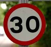 30 Speed Limit