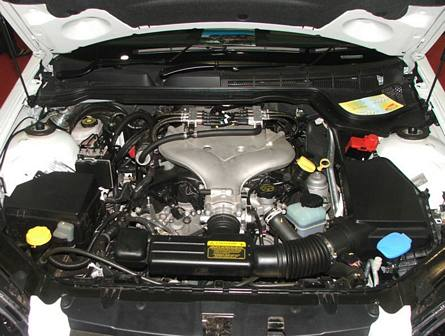 Alloytec V6 LPG engine 2006-2008 Holden VE Commodore