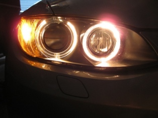 BMW 335i Angel Eyes