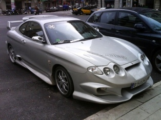 Body Kit Hyundai Coupe