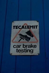 Brakes Sign