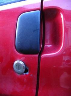 Broken Car Lock