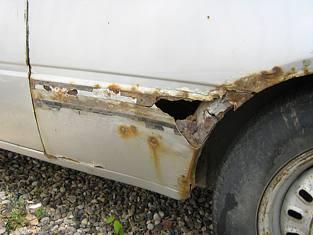 Car Rust Rot