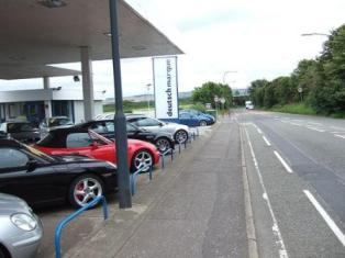 Car Sales Forecourt
