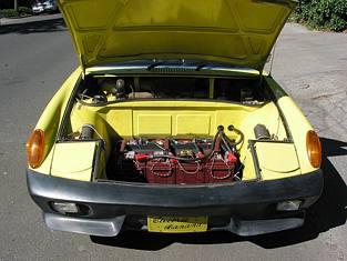 Electric Porsche 914