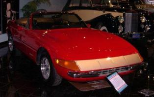 Featured in the 1976 film The Gumbal Rally 1972 Ferrari Daytona convertible