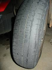 Illegal Tyre