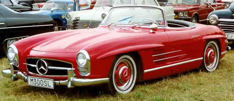 Mercedes Benz 300SL Roadster 1957-1963