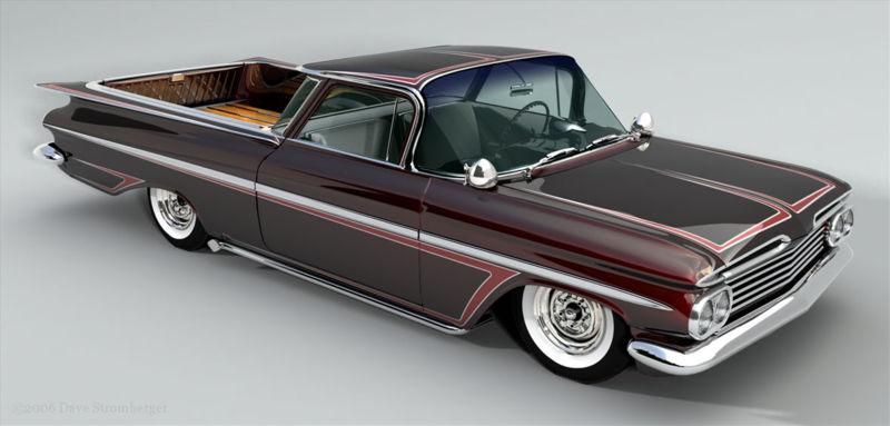 Chevrolet El Camino 1959 1987