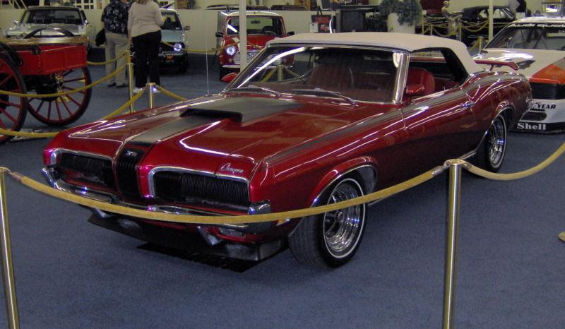 Mercury Cougar 1967-1970