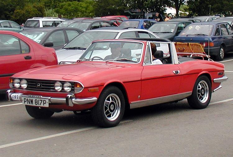 Triumph Stag Mk1 1970 1973 Amp Mk2 1973 1977