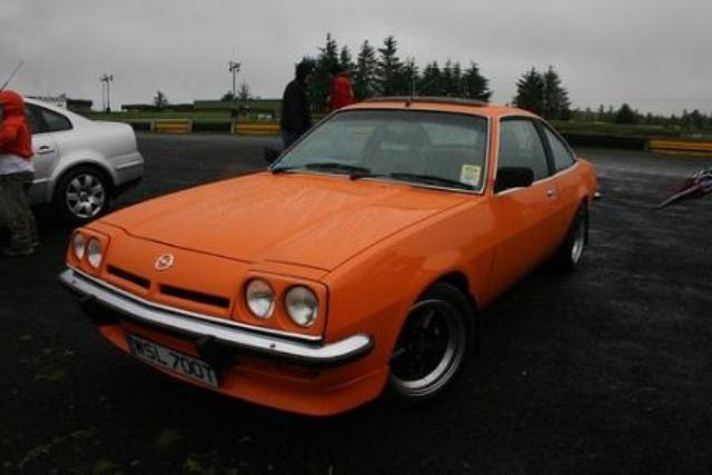 1976 Opel Manta 1979 Opel