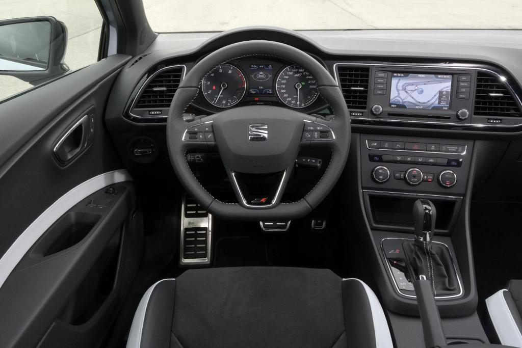 Seat leon cupra 280 and 265 - Seat leon interior ...