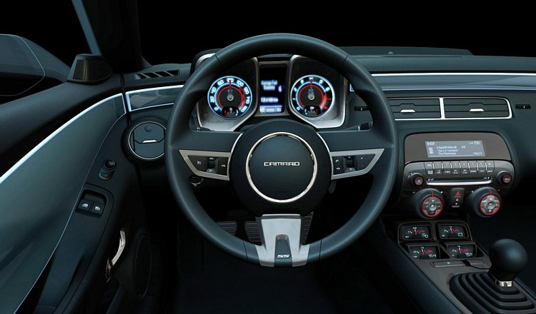 2016 Camaro Interior >> Chevrolet Camaro 5th Gen 2009 – 2015