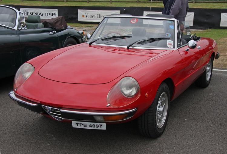 L Alfa Romeo Spider