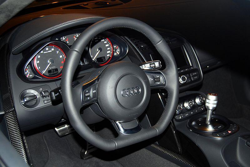 Audi R8 Interior Automatic Audi R8 2007-20...