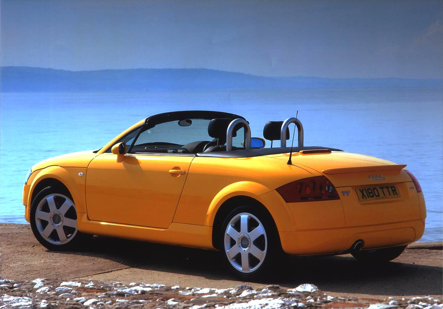 L Audi Tt Roadster Yellow on Austin Healey