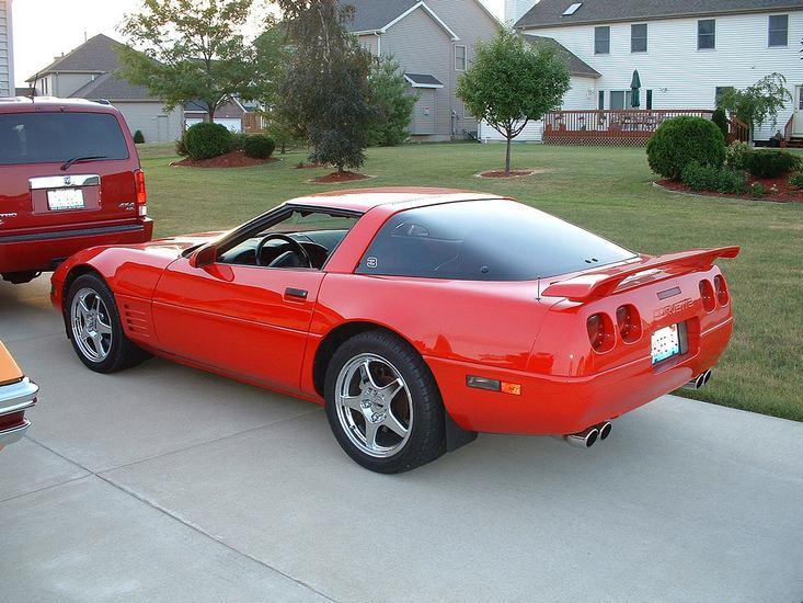 1990 chevrolet corvette zr1 coupe c4 car pictures z06 for c4 zr 1