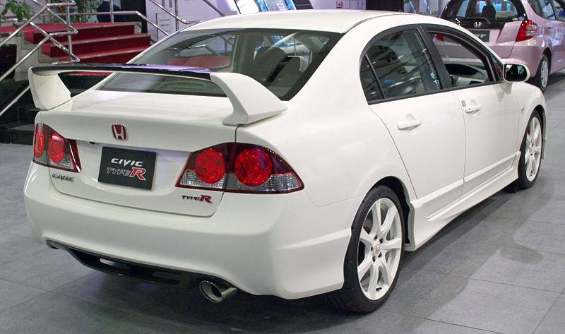 L Civic Type R Saloon