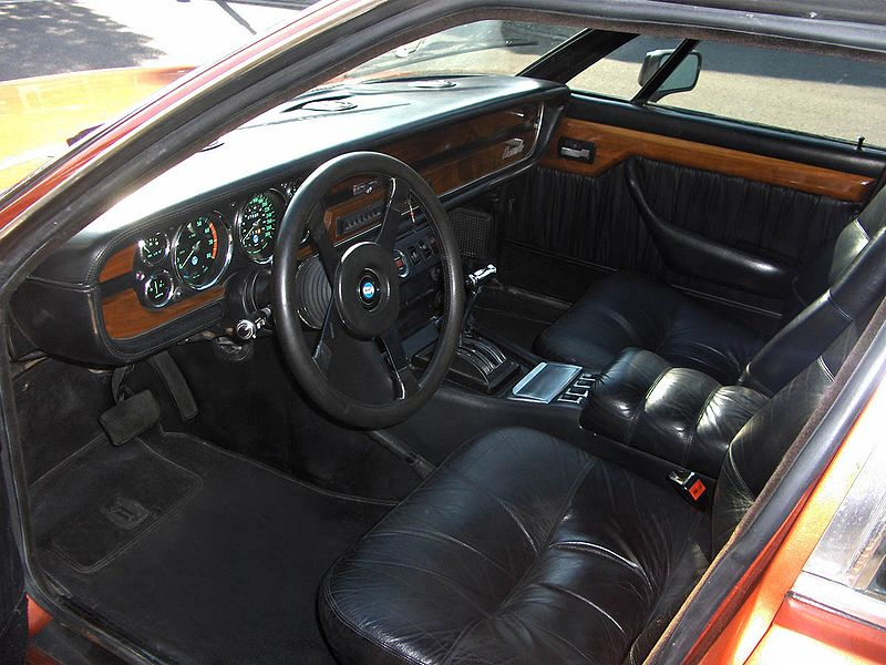 Jaguar Car Xj Interior De Tomaso Deauville 19...