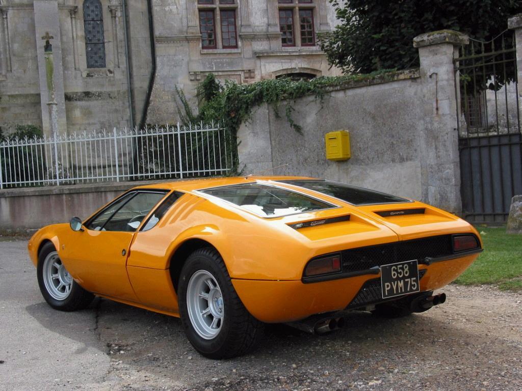 De Tomaso Mangusta 1967 1971