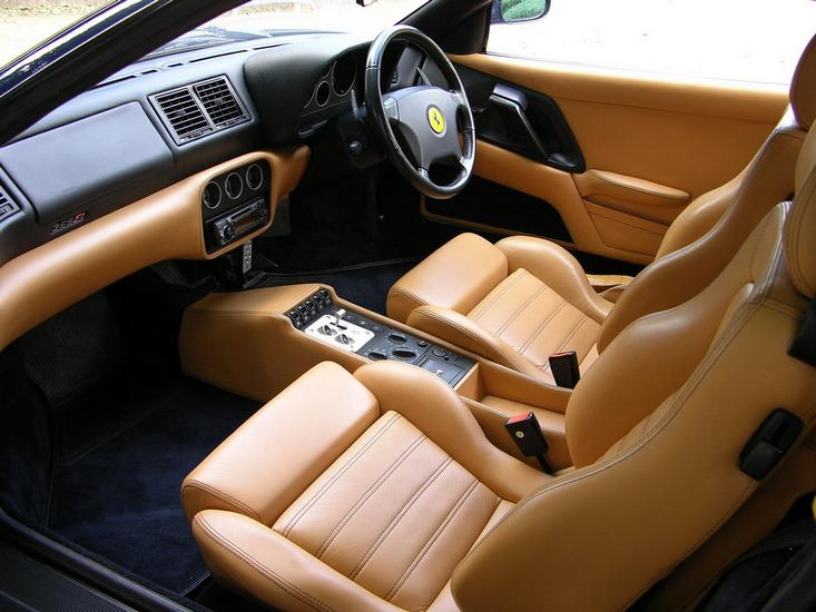 L Ferrari F Interior on 1994 Ford Interior