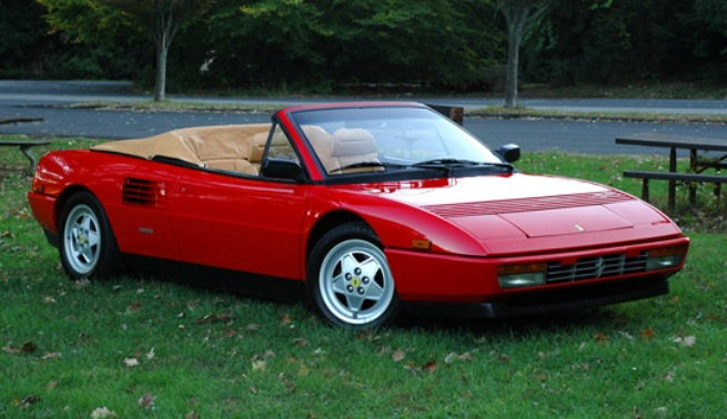 ferrari mondial 1980 1993. Black Bedroom Furniture Sets. Home Design Ideas