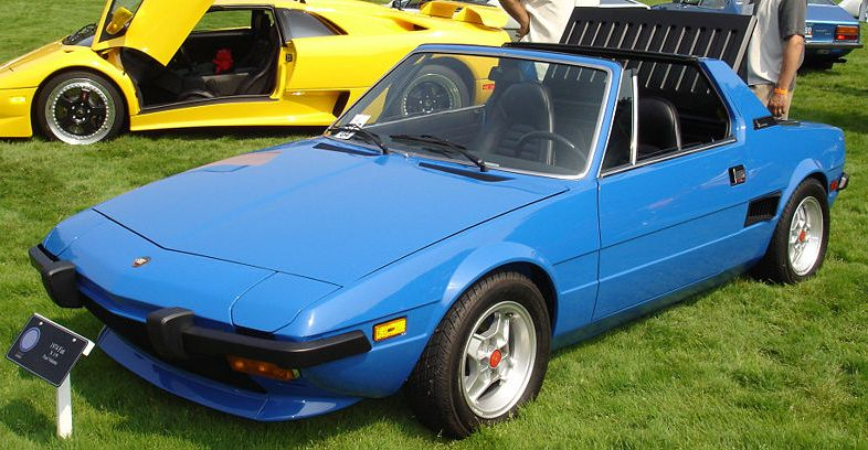 Fiat X19 1972 1989