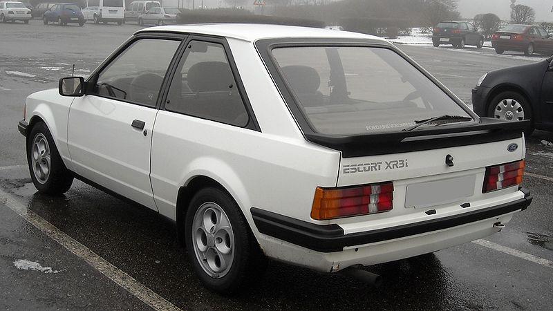 Ford Escort XR3i & RS1600i 1981-1993