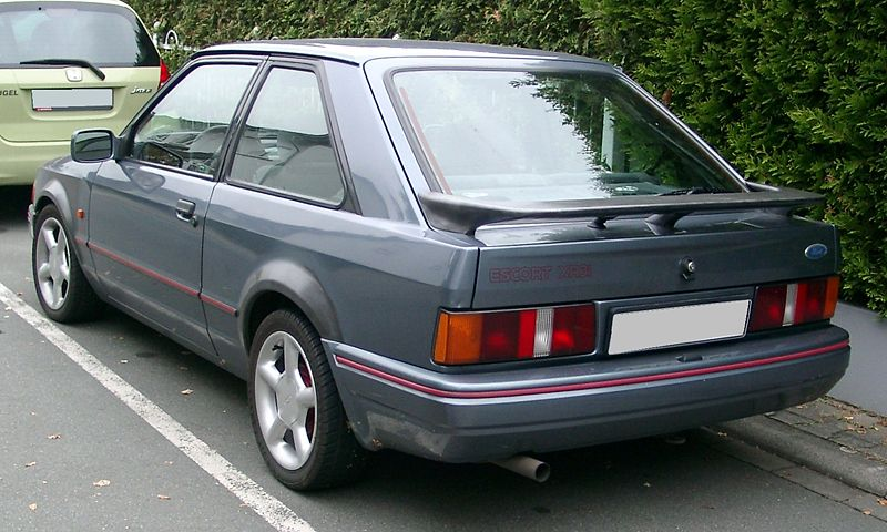 ford escort xr3i 105cv año 1993