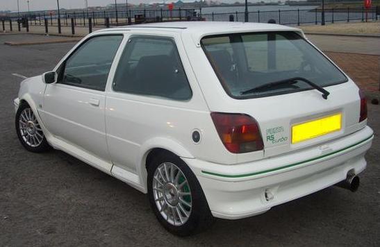 L Ford Fiesta Rs Turbo