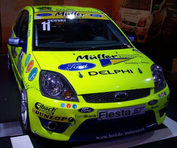 Ford Fiesta St. Ford Fiesta ST (2005-2008)