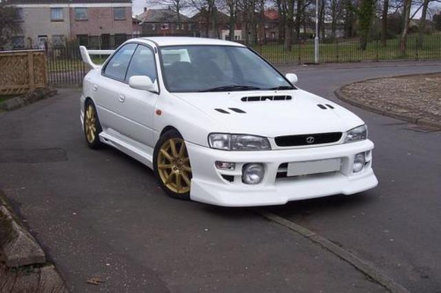 Subaru Impreza 1st Gen 1993 2001