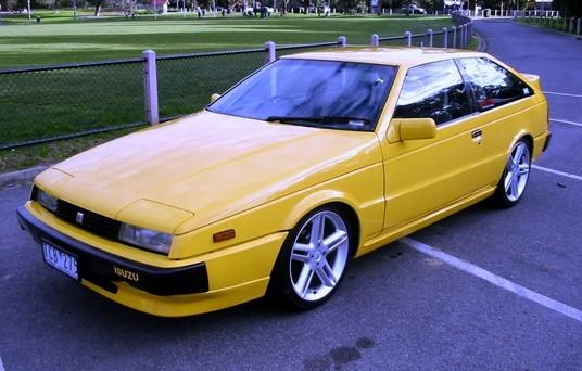 Isuzu piazza turbo 1985 1989