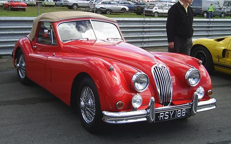 Jaguar Xk140. Jaguar XK140 1954-1957