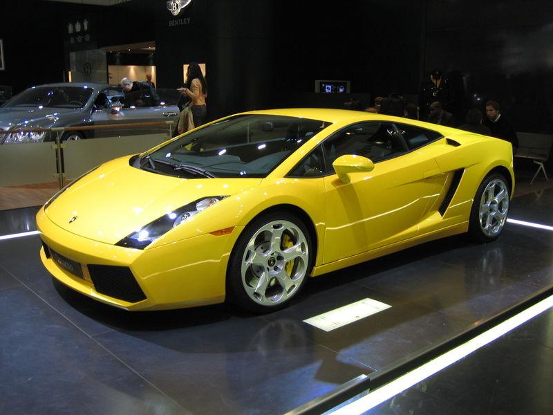 Lamborghini Gallardo. 2003 Lamborghini Gallardo Polizia