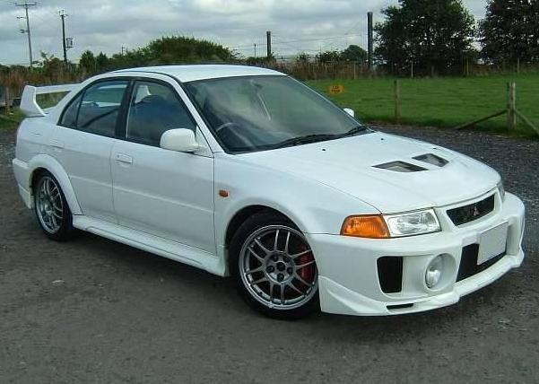 Mitsubishi Evo 5 1998 1999