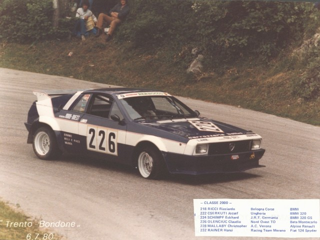 L Lancia Monte Carlo Racing on 1976 Lancia Scorpion Engine