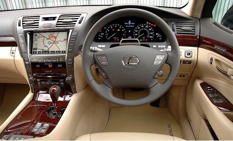 L Lexus Ls Dashboard