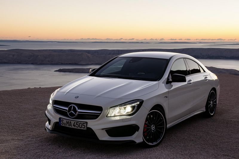 mercedes cla 45 amg 2013 on. Black Bedroom Furniture Sets. Home Design Ideas