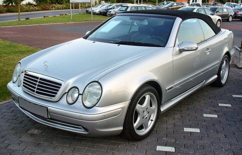 Mercedes CLK 1997 on