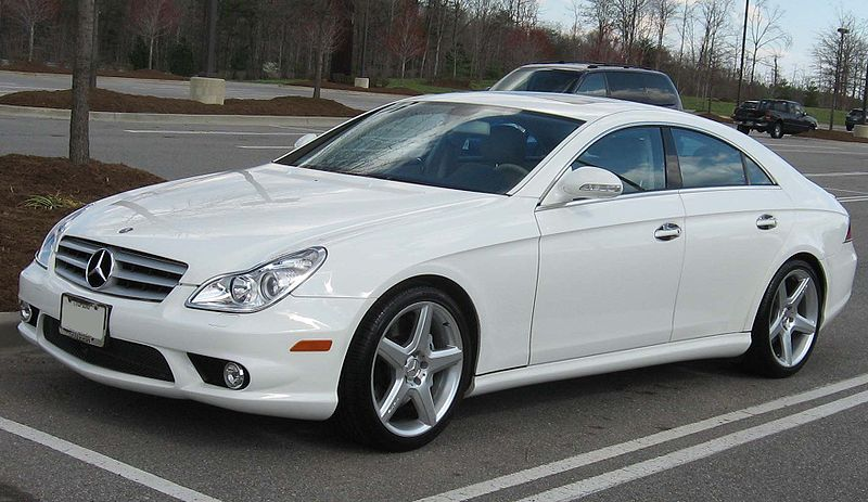 Mercedes CLS 2005 on