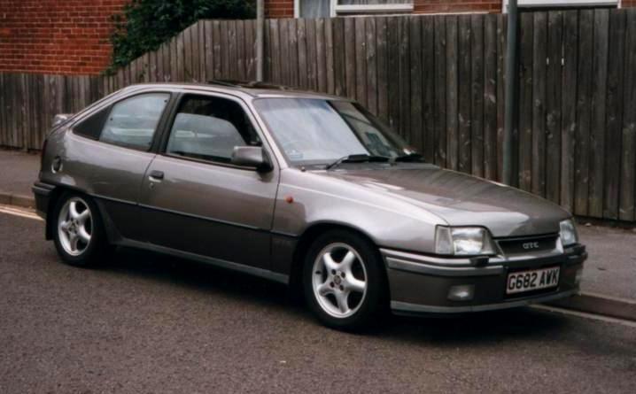 Vauxhall Astra GTE Mk2