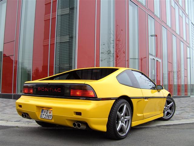 Pontiac Fiero 1984 1988