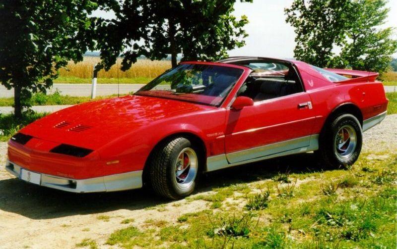 Pontiac Firebird Trans Am 1982 1992